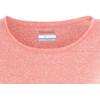 Columbia Trail Shaker Short Sleeved Shirt Women lychee heather